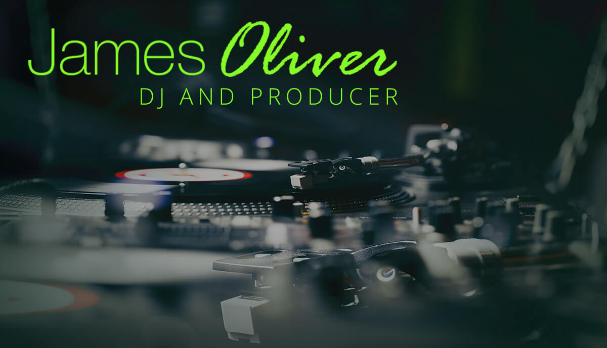 DJ and Producer Oliver James